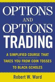 Cover of: Options and Options Trading  | Robert Ward
