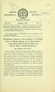 Cover of: Rhode Island Historical Society collections. | Rhode Island Historical Society.
