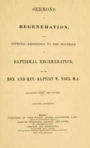 Cover of: Sermons on regeneration