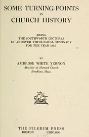Cover of: Some turning-points in church history