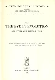 Cover of: System of ophthalmology. | Duke-Elder, Stewart Sir