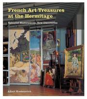 Cover of: French art treasures at the Hermitage | A. G. Kostenevich