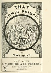 Cover of: That comic primer