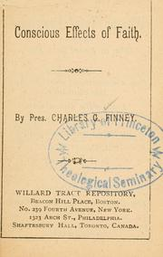 Cover of: [Tracts by President Finney]