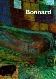 Cover of: Bonnard | Sarah Whitfield
