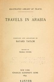 Cover of: Travels in Arabia