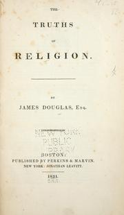Cover of: truths of religion | James Douglas