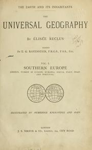 Cover of: The universal geography