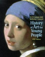 Cover of: History of art for young people
