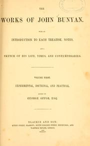 Cover of: The works of John Bunyan