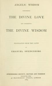 Cover of: [Works. | Emanuel Swedenborg
