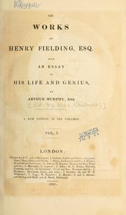 Works by Henry Fielding