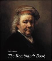 Cover of: The Rembrandt Book