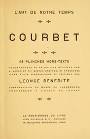 Cover of: Courbet