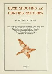 Duck shooting and hunting sketches by William Chester Hazelton