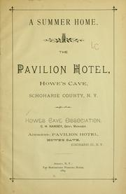 Cover of: A summer home. | Howes Cave association, Howes Cave, N.Y