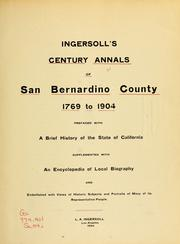 Cover of: Ingersoll