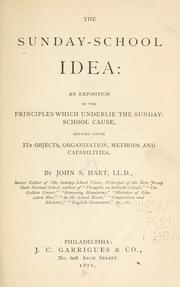 The Sunday-school idea