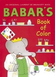 Cover of: Babar's book of color