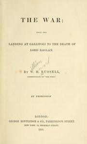 Cover of: The war