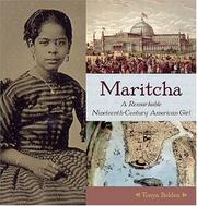 Cover of: Maritcha | Tonya Bolden