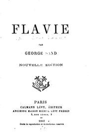 Cover of: Flavie