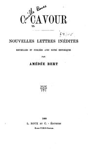 Cover of: Nouvelles lettres inédites
