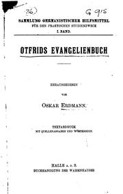 Cover of: Evangeliorum liber