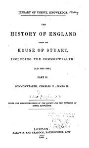 The history of England under the house of Stuart, including the Commonwealth. by Vaughan, Robert