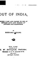 Cover of: Out of India | Rudyard Kipling