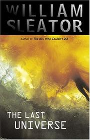 Cover of: The last universe