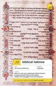 Teach Yourself Biblical Hebrew Complete Course (Book Only (Teach Yourself)