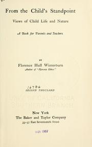 Cover of: From the child