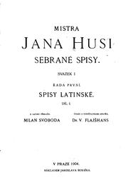 Cover of: Sebrané spisy