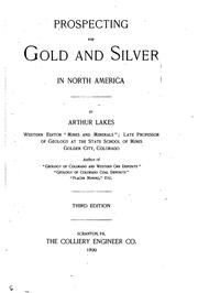 Cover of: Prospecting for gold and silver in North America