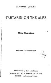 Cover of: Tartarin on the Alps
