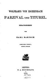 Cover of: Parzival und Titurel: Rittergedichte