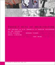 Cover of: Perfect Acts of Architecture (Museum of Modern Art Books)