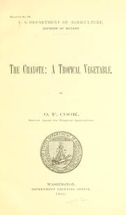 Cover of: The chayote