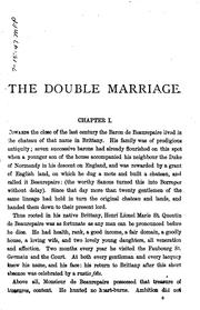 Cover of: The double marriage, or, White lies