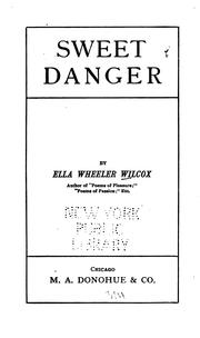 Cover of: Sweet danger