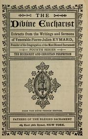 Cover of: The divine eucharist