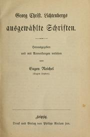 Cover of: Georg Christ
