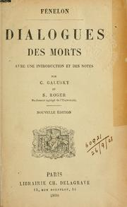 Cover of: Dialogues des morts
