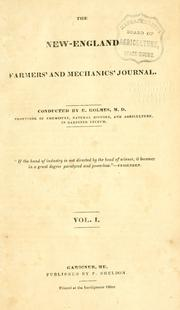 Cover of: The New-England farmers