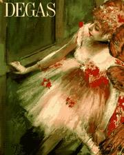 Cover of: Degas | Robert Gordon