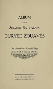Cover of: Album of the Second battalion Duryee Zouaves. | New York infantry. 165th regt