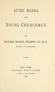 Cover of: Guide marks for young churchmen