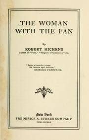 Cover of: The woman with the fan | Robert Smythe Hichens