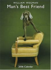 Cover of: Man's Best Friend 2006 Vertical Wall Calendar